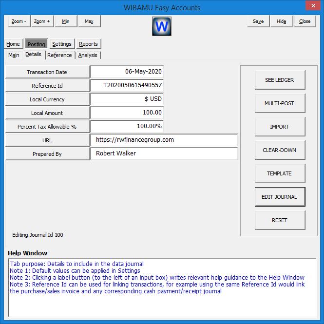11. WIBAMU - Posting Details